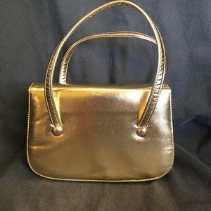 Vintage La France Gold Lamé Handbag